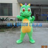 Factory direct sale customized cartoon dragon mascot costume for adult