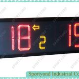 Sports Portable Electronic Digital Scoreboard with Built-in Battery Support