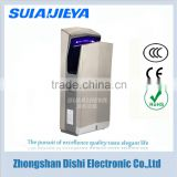 Automatic high speed jet air electric hand dryer with HEPA filter for bathroom