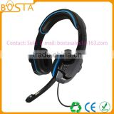 Wholesale stereo factory price funny coolest professional microphone computer headphones