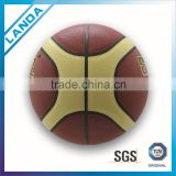 custom cheap PU basketball ball size 7 on bulk sale