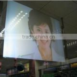 holographic screen film for widows,shopping mall, glass shop video advertising low price sales for promotion!!!