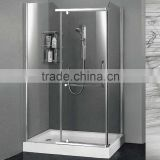 Simple tempered glass shower room shower enclosure shower cabin (B-1205R)