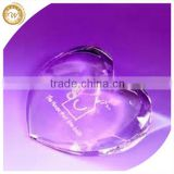 Modern Cheapest wedding gifts crystal paperweight                                                                                                         Supplier's Choice