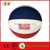 3 Colors promotional nature rubber basket ball