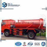 HOWO 10000 Litres Vacuum Sewage Suction Tanker Truck