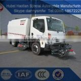 road cleaning car hot sale low price sweeper truck