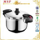Capsulated bottom pressure cooker surgical stainless steel pressure cooker suitable for induction stove safety seals MSF-3783                                                                         Quality Choice