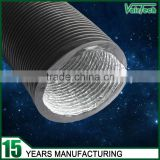 Hvac system ventilation plastic combie PVC aluminum foil flexible canvas air duct connector