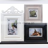 Wall art canvas oil painting with picture frame