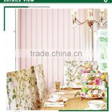 hot foaming non woven wallpaper, oriental striped walls wall covering for apartment , smoke-proof wall sticker roll