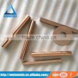 Low price W75tungsten copper rod for argon arc weld electrode / EDM electrode / Sinking electrode