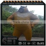 China Manufacture fiberglass animal statues Bear sculpture