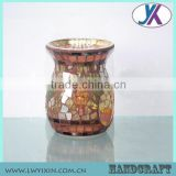 Beautiful Mosaic Glass Incense Burner-17/Candle Holder mosaic glass fragrance Oil Burner, Aroma Diffuser, Aroma Lamp-7