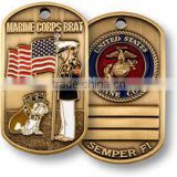 Low price military dog tags hot sales dog tags for military high quality military dog tags for dogs