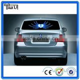 Colorful flashing led Car Sticker music rhythm lamp, luminous voice activated el panel car light car equalizer stickers