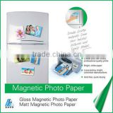 Factory Price hot sale! DPI 5760 inkjet glossy magnetic photo paper! Paper weight 120g~260g                                                                         Quality Choice