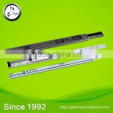 With ISO certificate steel colorful zinc plated furniture cabinet drawer ball bearing slide