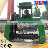 Organic fertilizer factory using composting equipment/compost fertilizer making equipment for sale
