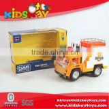New kids toys for 2015 battery operated car construction truck plastic car construction truck