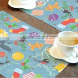 New style popular pass EN71 cute cartoon disposable placemats baby                                                                         Quality Choice