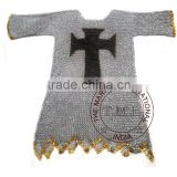 MEDIEVAL TEMPLAR CHAINMAIL SHIRT- COLLECTIBLE MEDIEVAL CHAINMAIL ARMOR