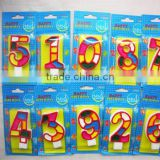 MAIN PRODUCT cheap sale happy birthday number candle for birthday                                                                                                         Supplier's Choice