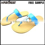 Latest design new fashion lady custom logo slipper , wholesale flip flop charm manufacture