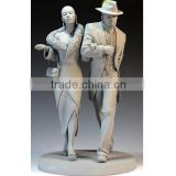 Polyresin Craft Indian Lover Couple Statue