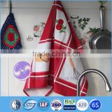 wholesale 100% cotton screen printed tea towel