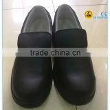 EN ISO 20345:2011 black color microfiber leather upper PU outsole electrical hazard safety shoes