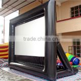 2014 advertising outdoor inflatable movie screen,party inflatable screen,inflatable rear projection screen