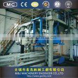 Automatic packing machine with bag pushing system