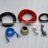 1/0 gauge Amplifier Installation Kit for car amplifier with trade assurance amplifier wiring kit