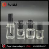 custom empty mini 7ml uv gel nail polish glass bottle with brush                                                                                                         Supplier's Choice