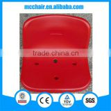 Aries blow mold one-piece single anti-aging HDPE plastic stadium chair tiered stadium seating