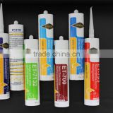 quick drying silicone sealant cartridge packing for glass curtain wall with plastic nipple