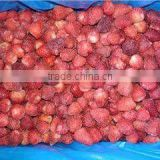 IQF frozen dried whole strawberry