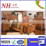 Scratch Resistant synthetique wood matt finish paint