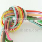 Solid Rubber Cord , 11 Assorted Colors,Competitive Price