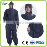 Low price cleanroom suit,disposable coverall,protective suit