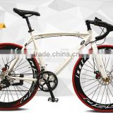 2016 new style aluminum alloy rim colorful and high quality 700C road bike/bicycle