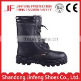 wholesale shock resistant black knight water proof steel toe insert safety boots for heavy work boots with steel toe cap