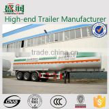China Manufacture 3 Axles 45000 Liters Oil /Fuel Tanker Trailer Transportation Tanker Vehicle For Sale