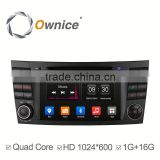 Ownice C300 Quad core android 4.4 Car DVD Radio for Benz E CLS W219 CLS350 CLS500 built in RDS multimedia WIFI GPS navi