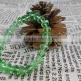 Green Crystal glass Bracelet with crystal beads jewelry (R-1343