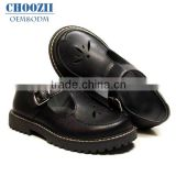 22 Years Professional Supplier OEM Primary Children Leather Elegant Buckle Girls Student Formal Back to School Shoes