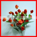 artificial flower bush-9 heads tulip bush