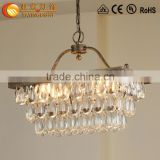 crystal glass prism chandelier lamp pendants,crystal chandelier modern,diy crystal chandelier