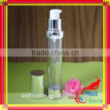 30ml 50ml 100ml glass airless bottle pump sprayer for face lotion Airless Bottle for lotion cream